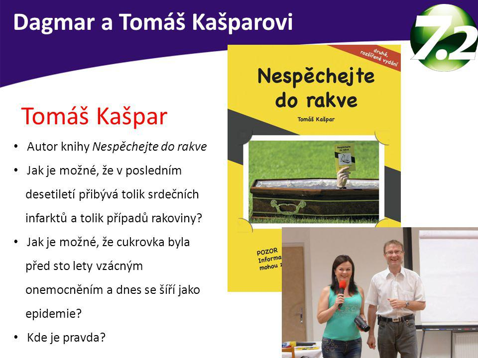 Tomáš Kašpar Dagmar a Tomáš Kašparovi Autor knihy Nespěchejte do rakve