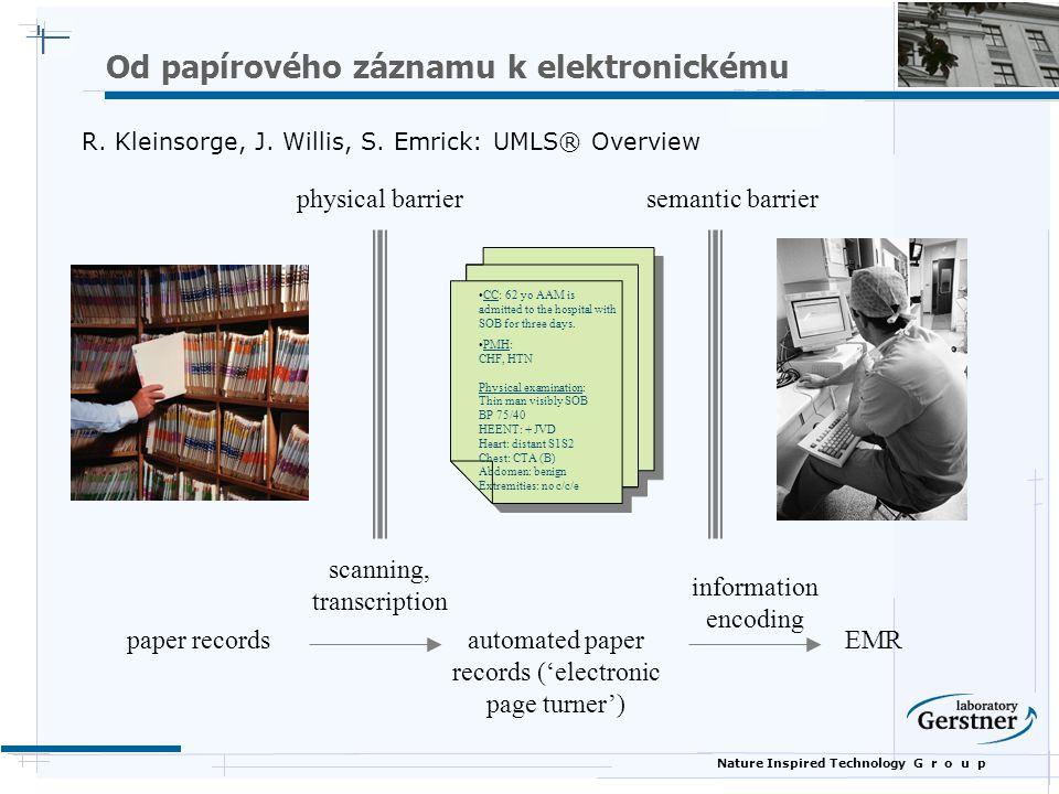 Od papírového záznamu k elektronickému