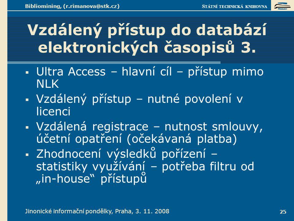 Vzdálený přístup do databází elektronických časopisů 4.