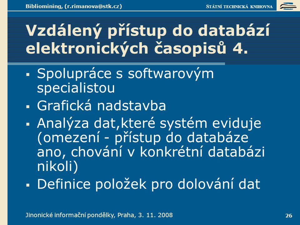 Vzdálený přístup do databází elektronických časopisů 5.