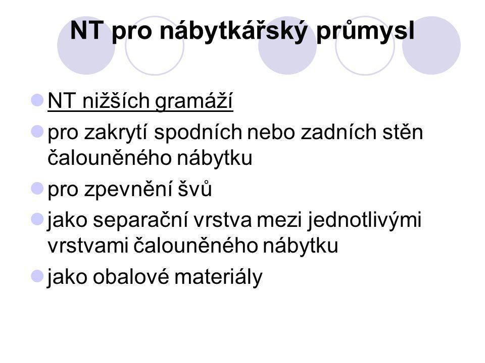 NT pro nábytkářský průmysl