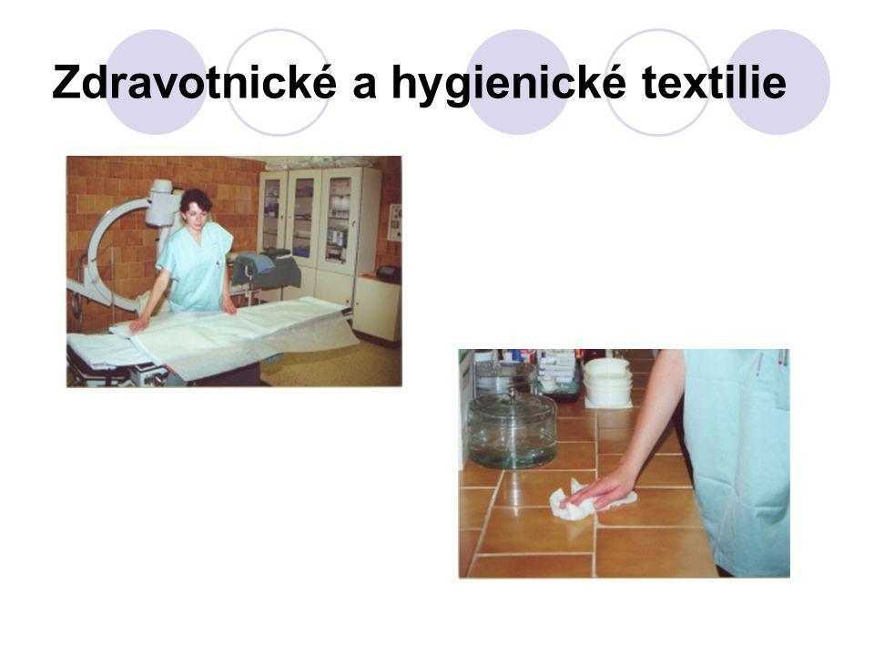 Zdravotnické a hygienické textilie