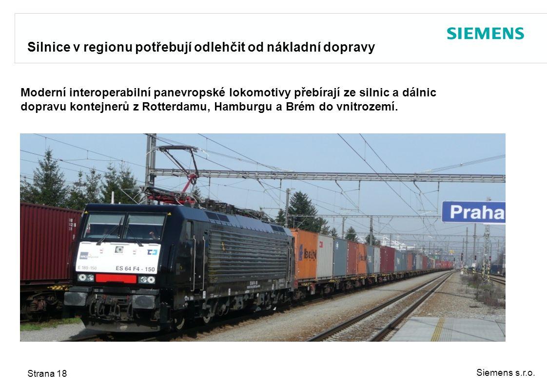 Silnice v regionu potřebují odlehčit od nákladní dopravy
