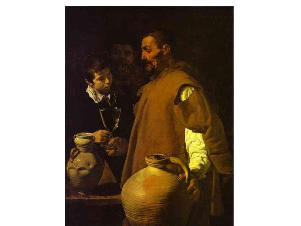Prodavač vody v Seville;1620
