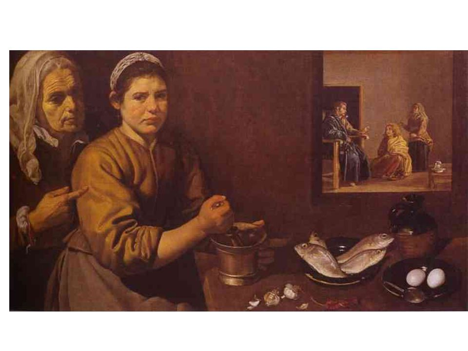 Kristus v domě Marty a Marie (1618)