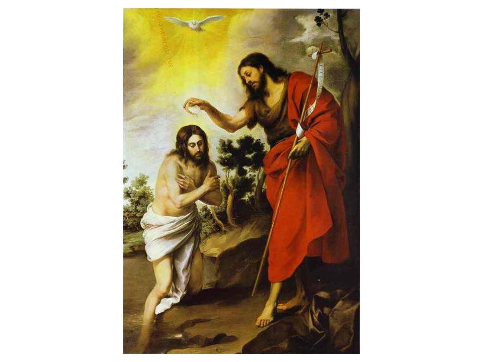 Pokřtění Krista
