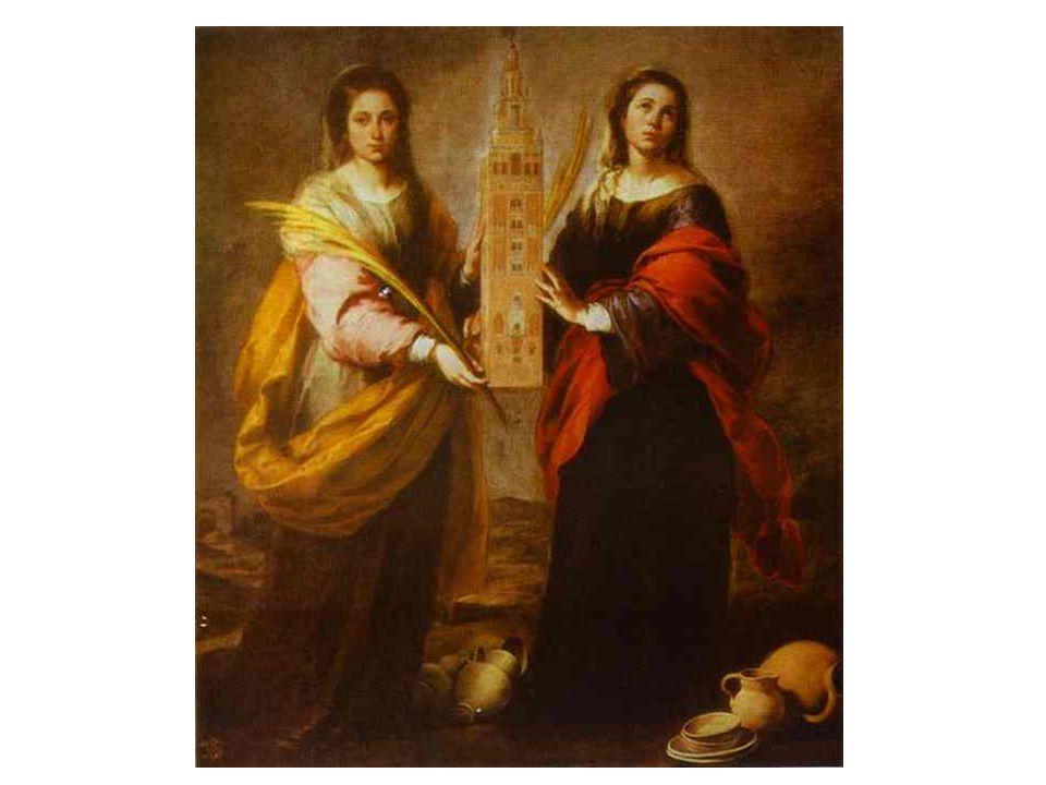 Svatá Justina a Svatá Rufina