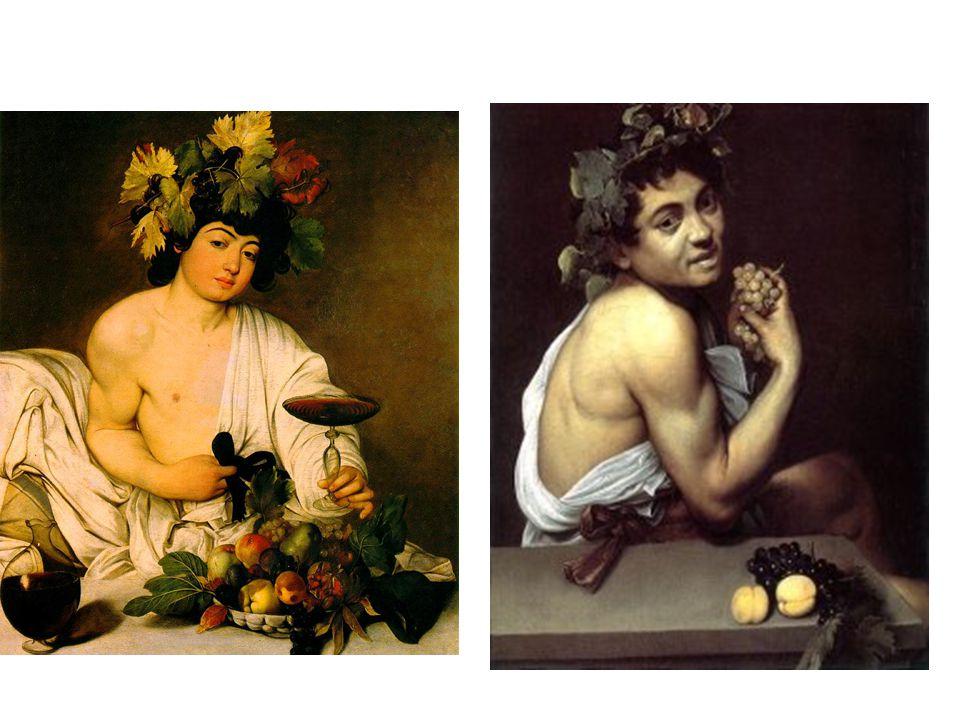 Bacchus; autoportrét Bacchus