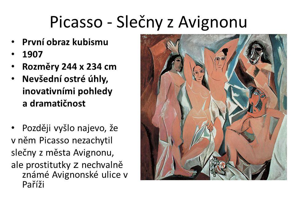 Picasso - Slečny z Avignonu