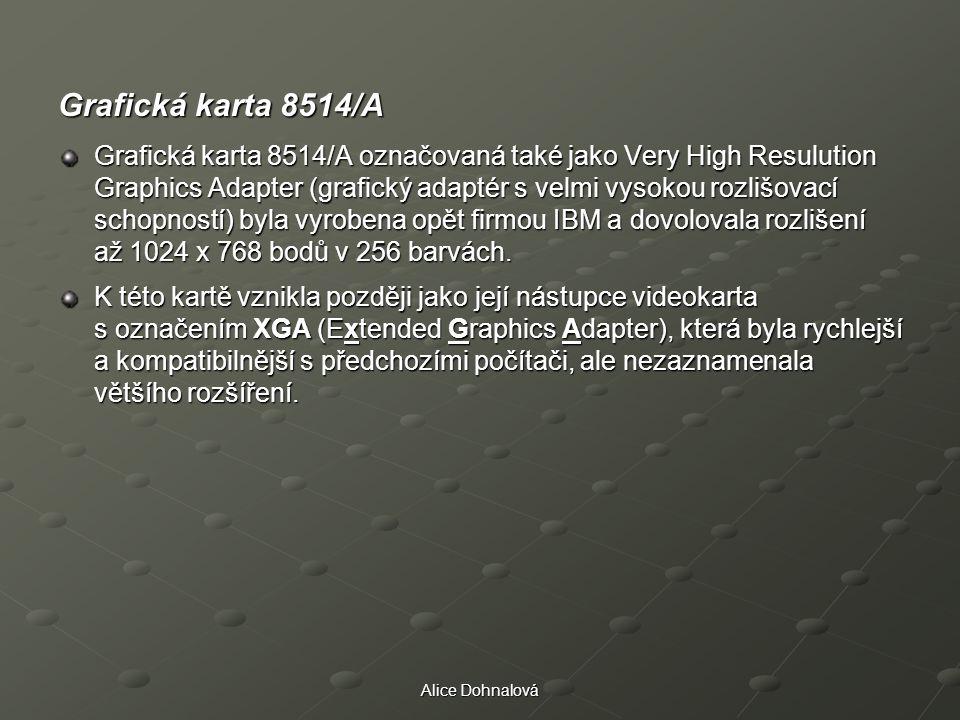 Grafická karta 8514/A