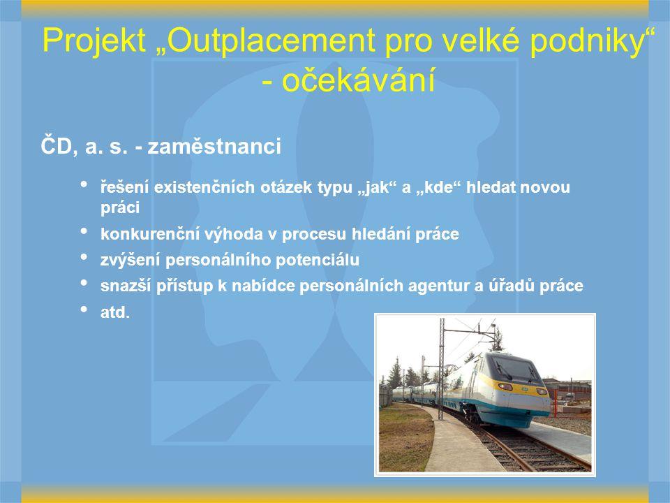 """Projekt """"Outplacement pro velké podniky - očekávání"""