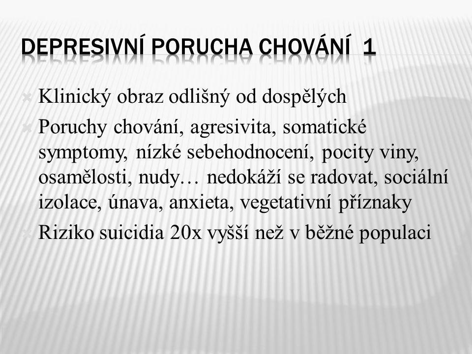 Depresivní porucha chování 1