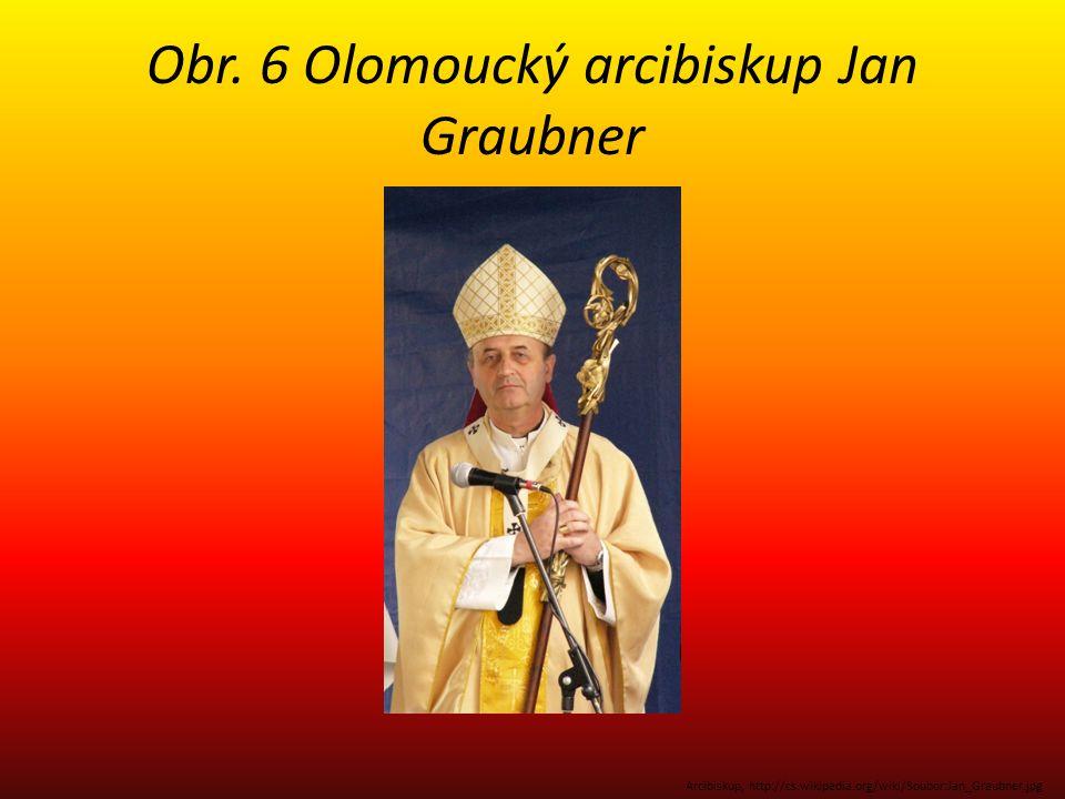 Obr. 6 Olomoucký arcibiskup Jan Graubner