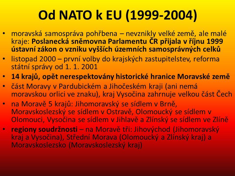 Od NATO k EU (1999-2004)