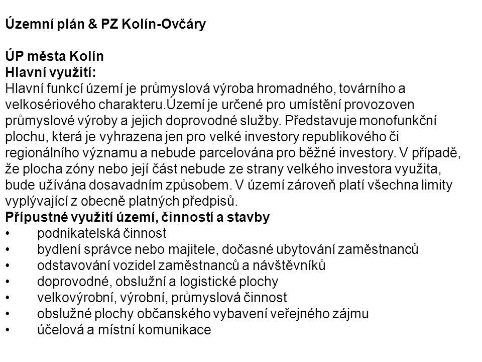 Územní plán & PZ Kolín-Ovčáry