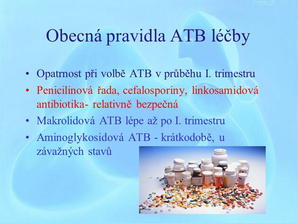 Obecná pravidla ATB léčby