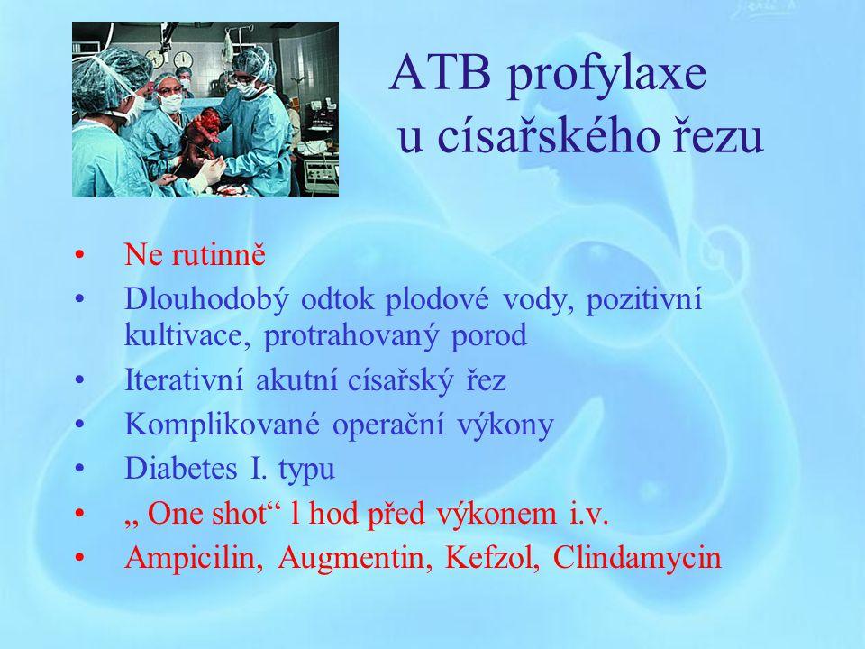 ATB profylaxe u císařského řezu