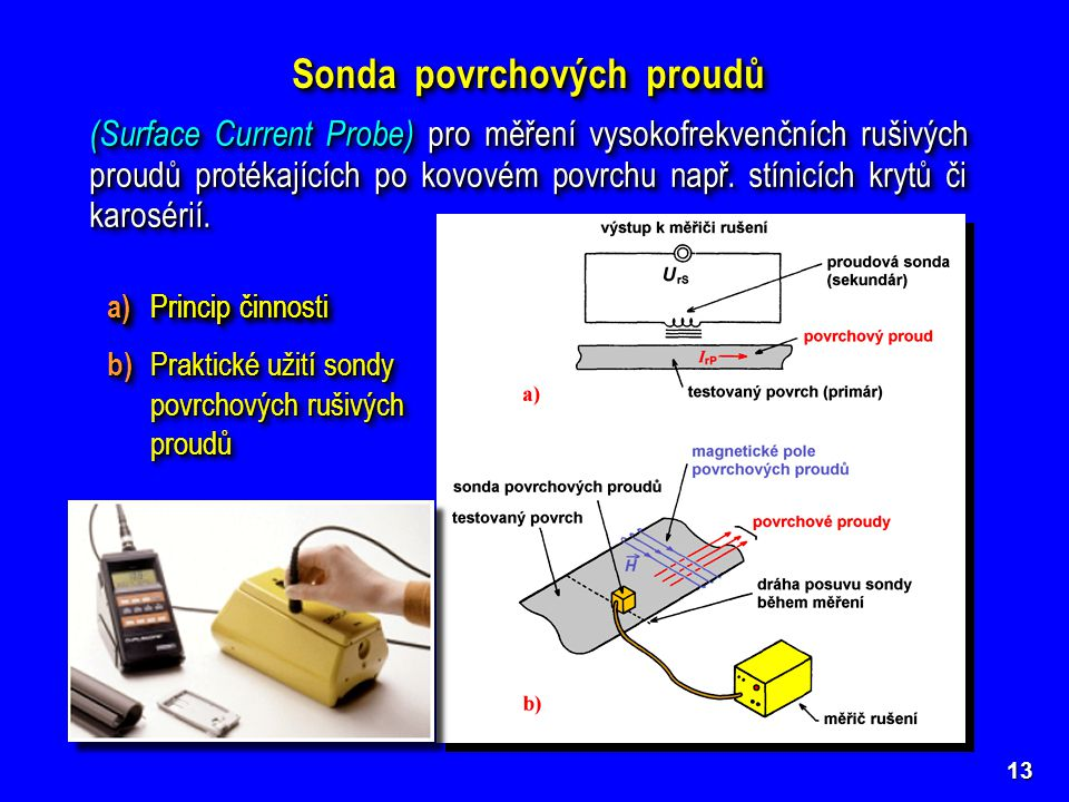 Sonda povrchových proudů
