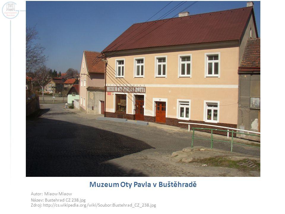 Muzeum Oty Pavla v Buštěhradě