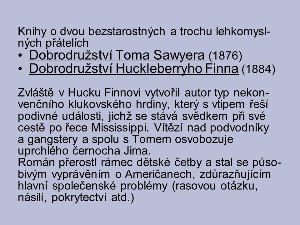 Dobrodružství Toma Sawyera (1876)