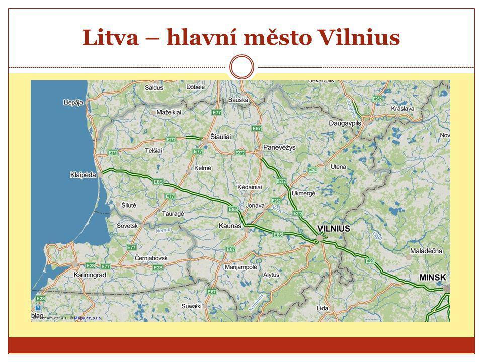Litva – hlavní město Vilnius