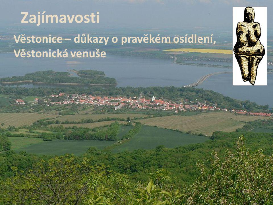 Zajímavosti Věstonice – důkazy o pravěkém osídlení, Věstonická venuše