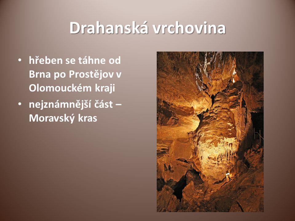 Drahanská vrchovina hřeben se táhne od Brna po Prostějov v Olomouckém kraji.