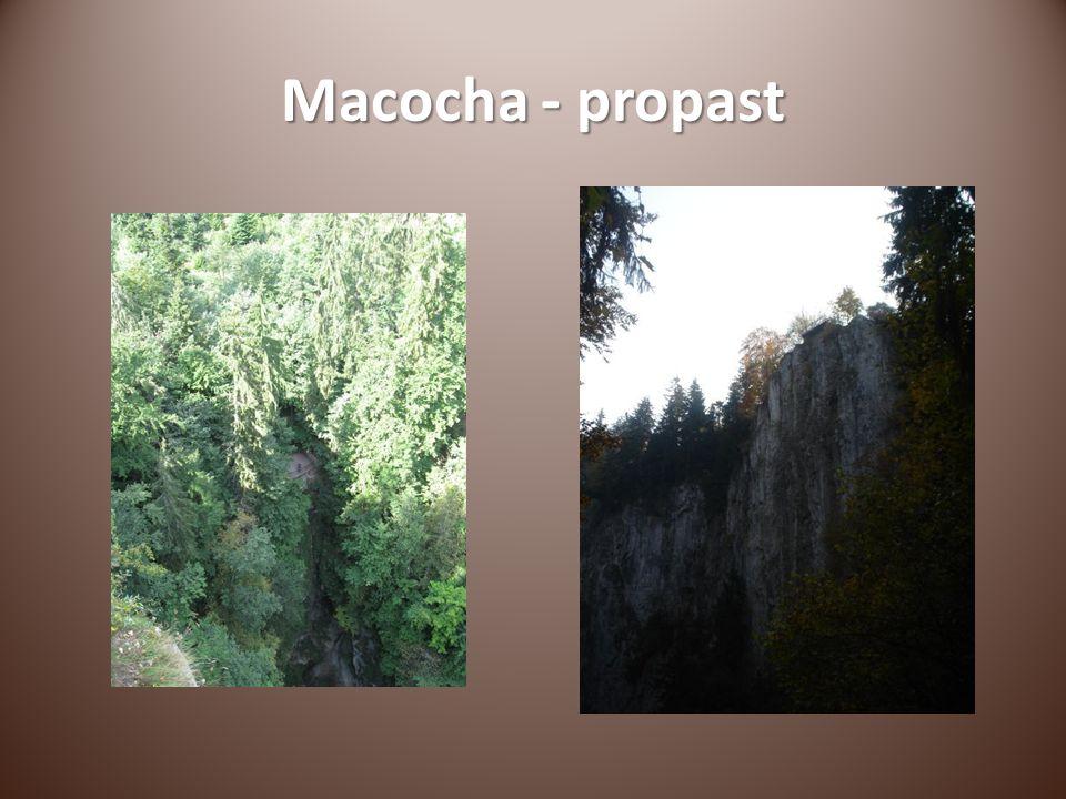 Macocha - propast