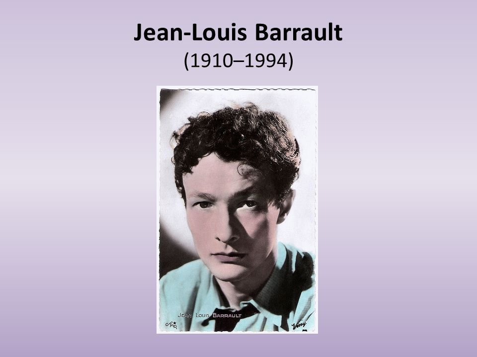 Jean-Louis Barrault (1910–1994)