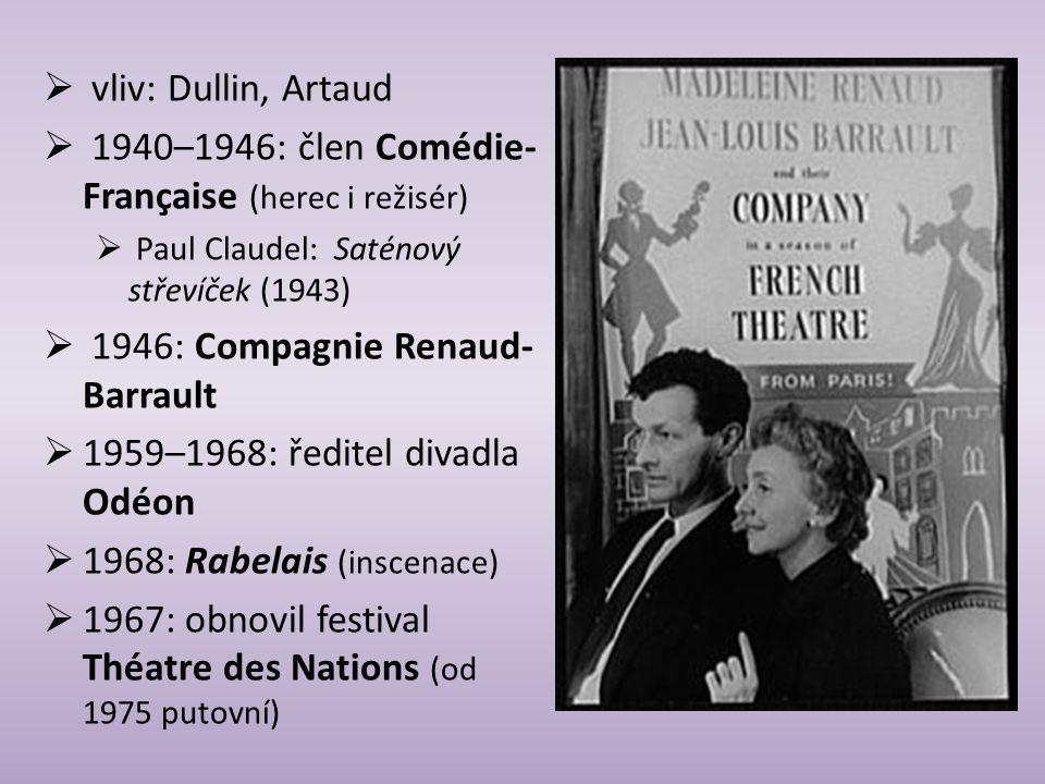 1940–1946: člen Comédie-Française (herec i režisér)