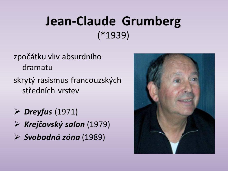 Jean-Claude Grumberg (*1939)