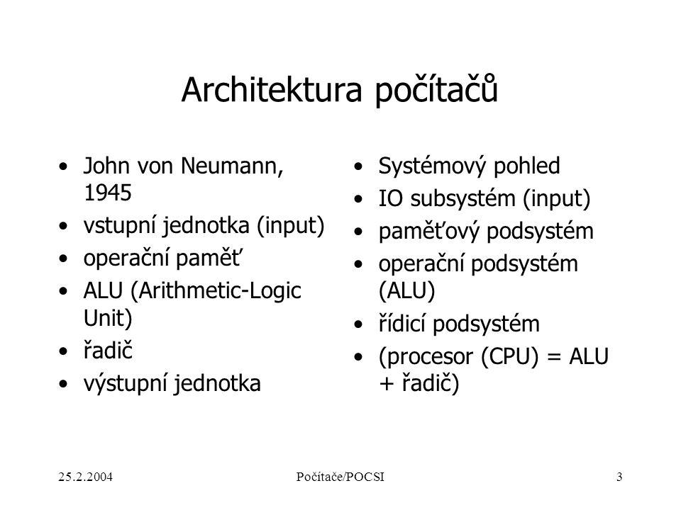 Architektura počítačů