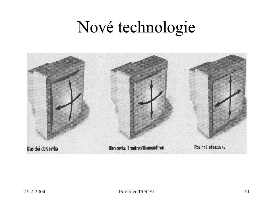 Nové technologie 25.2.2004 Počítače/POCSI