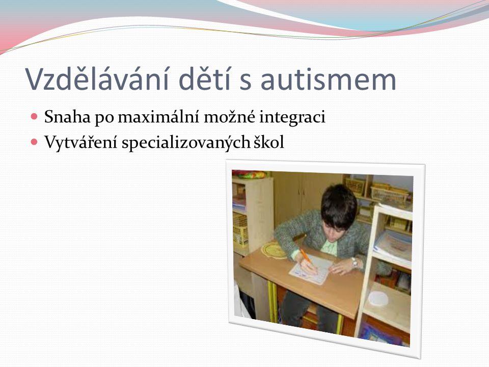 Vzdělávání dětí s autismem