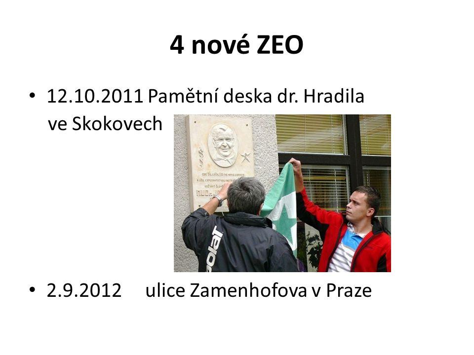 4 nové ZEO 12.10.2011 Pamětní deska dr. Hradila ve Skokovech