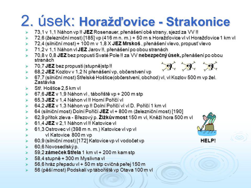 2. úsek: Horažďovice - Strakonice