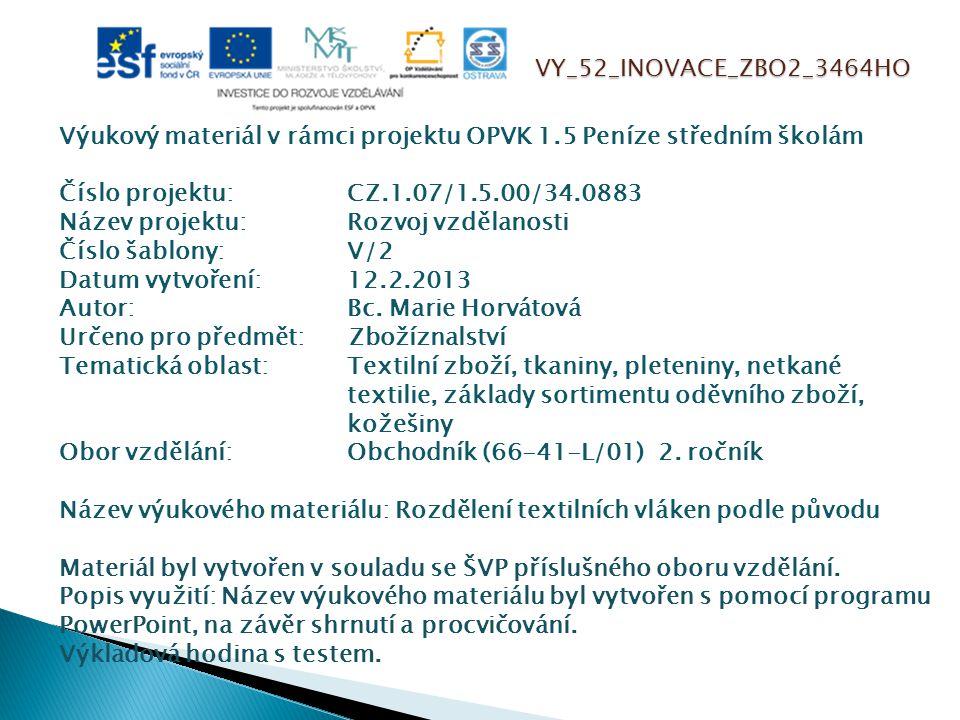 VY_52_INOVACE_ZBO2_3464HO