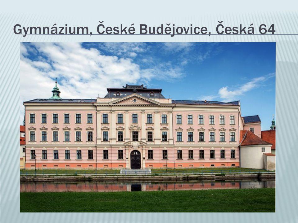 Gymnázium, České Budějovice, Česká 64