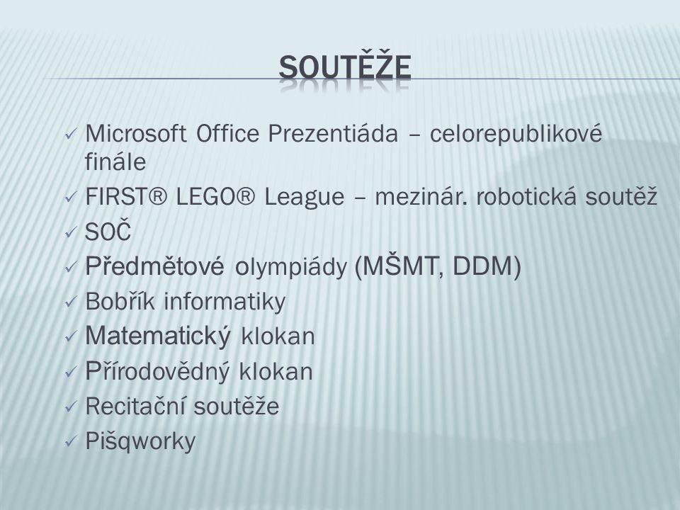 Soutěže Microsoft Office Prezentiáda – celorepublikové finále