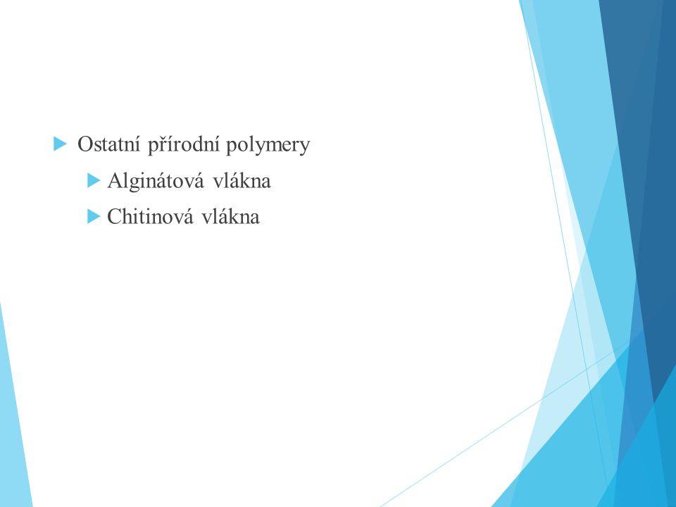 Ostatní přírodní polymery