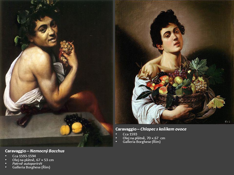 Caravaggio – Chlapec s košíkem ovoce
