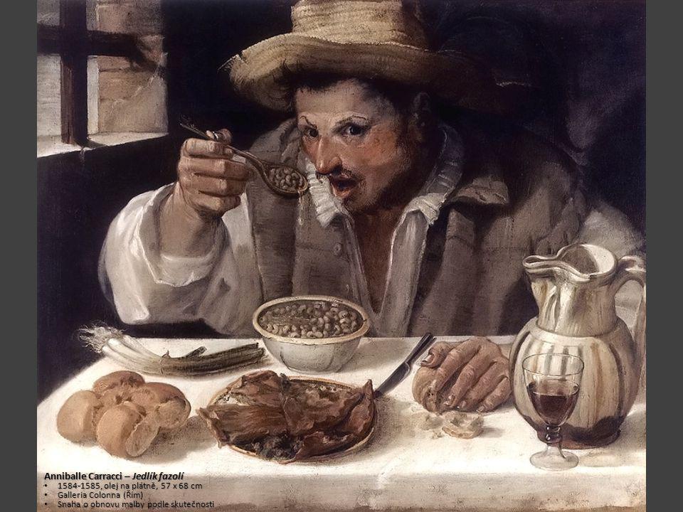 Anniballe Carracci – Jedlík fazolí