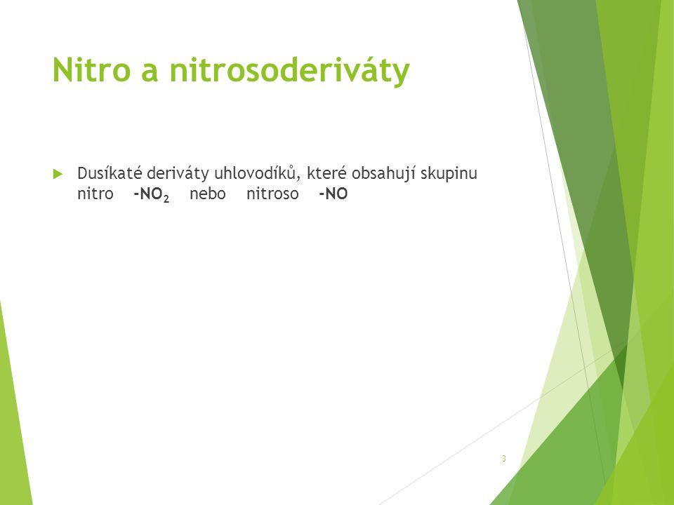 Nitro a nitrosoderiváty