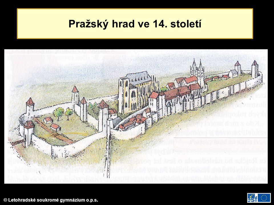 Pražský hrad ve 14. století