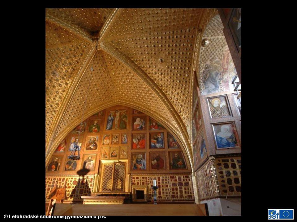Kaple sv. Kříže na Karlštejně