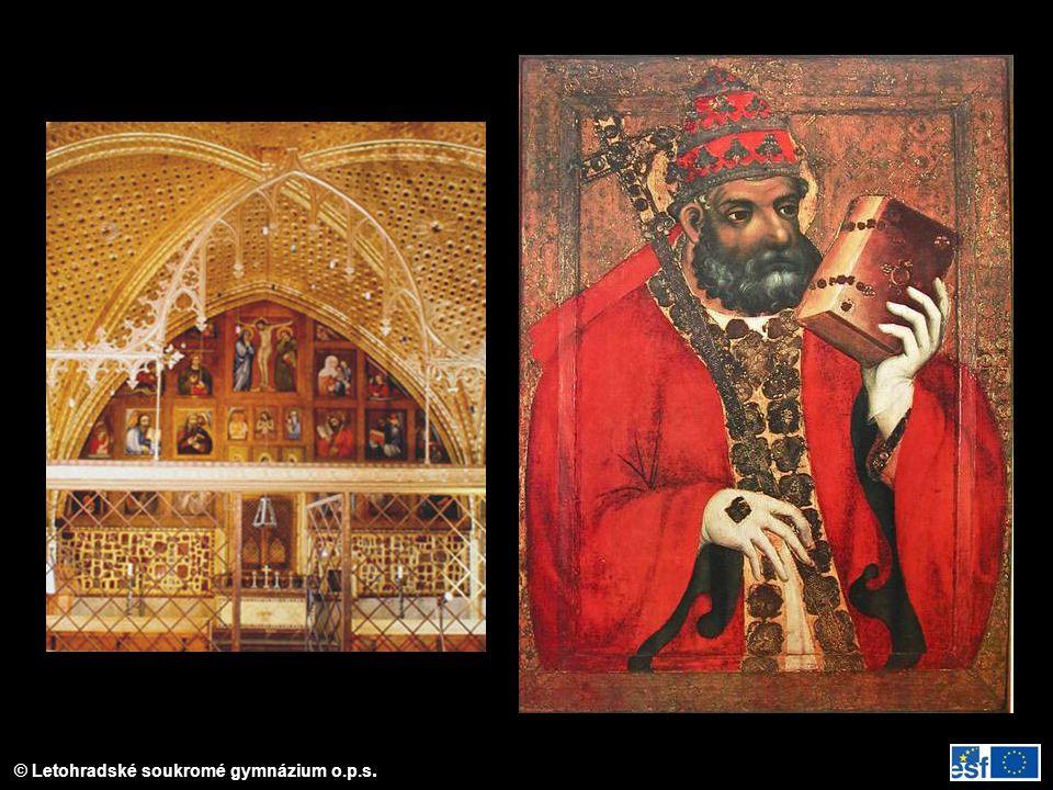 Magister Theodoricus – malby v kapli sv. Kříže