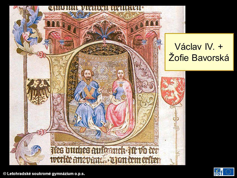 Václav IV. + Žofie Bavorská