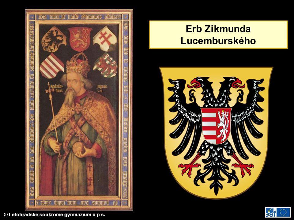 Erb Zikmunda Lucemburského