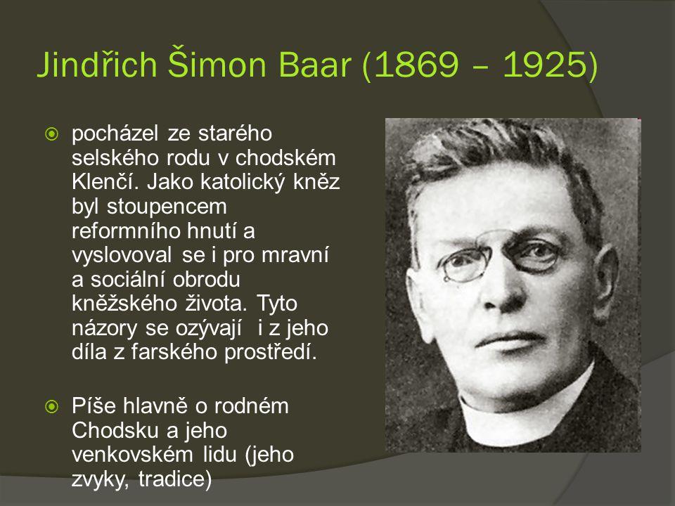 Jindřich Šimon Baar (1869 – 1925)