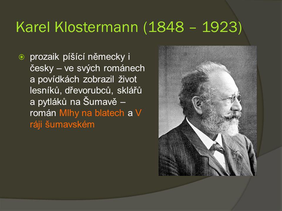 Karel Klostermann (1848 – 1923)